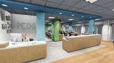 A rendering of Good Samaritan Hospital Medical Center's