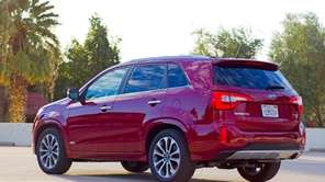 The redesigned 2014 Kia Sorento's long list of