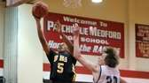 Bridgehampton's Tylik Furman puts in the layup past
