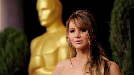 Jennifer Lawrence, up for Best Actress (