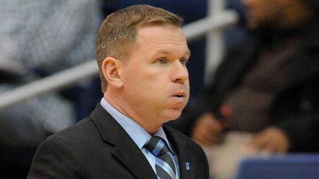 Hofstra University men's basketball head coach Mo Cassara