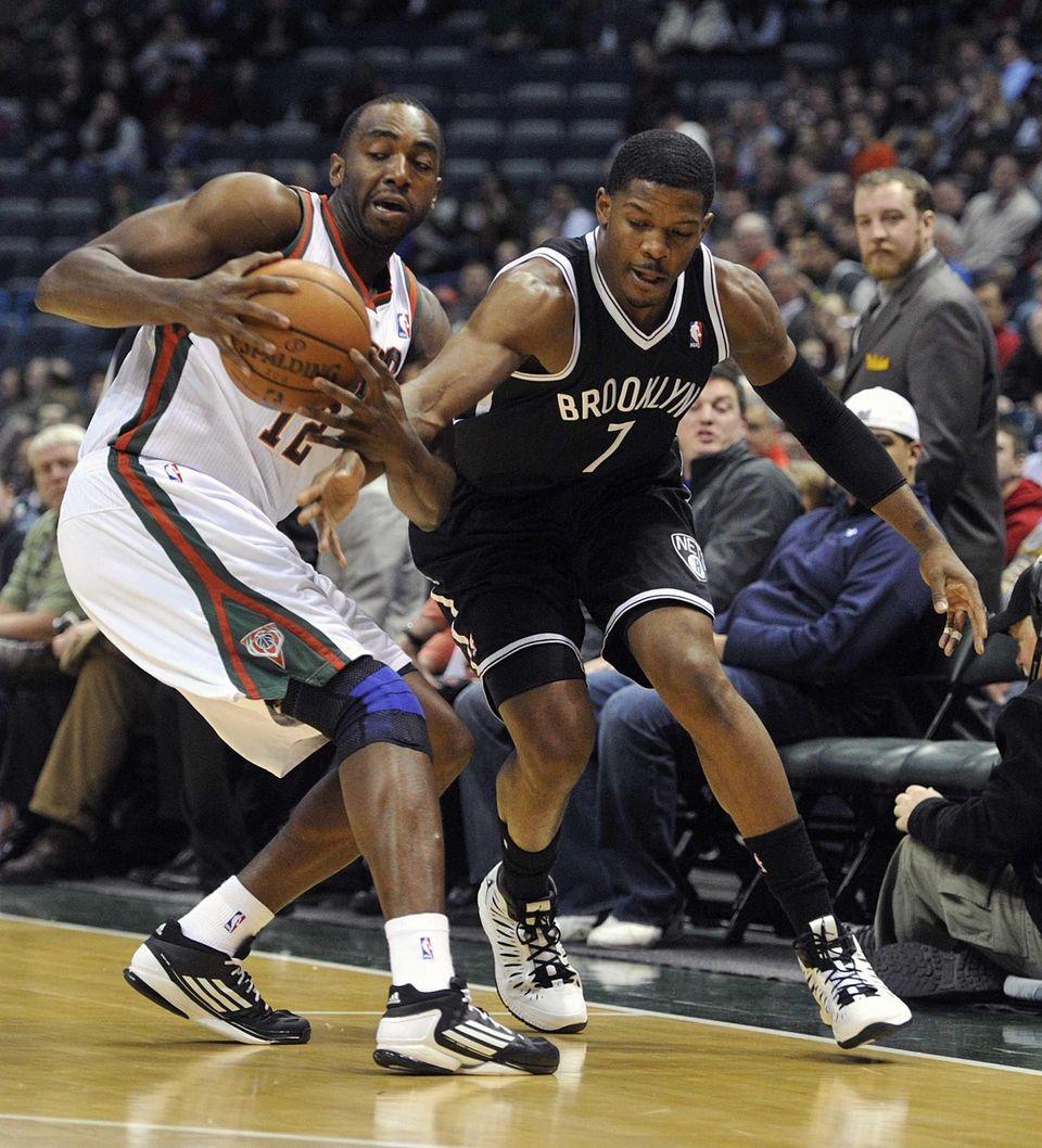 Milwaukee Bucks' Luc Richard Mbah a Moute and