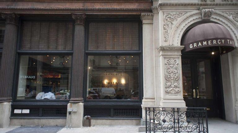 Exterior of Gramercy Tavern in Manhattan. (Feb. 20,