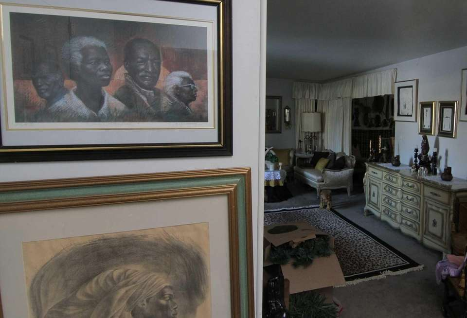 Frances Watkins' Kings Park home is decorated with