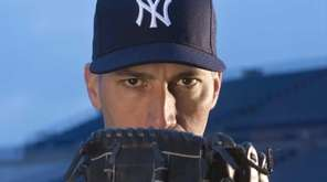 Yankees pitcher Andy Pettitte poses on picture day