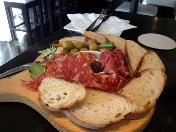 Cured meats are available at Molto Vino wine