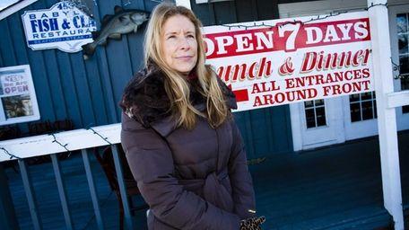 Melissa Laroque, the owner of Babylon Fish &