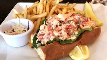 The lobster roll at Drifters Kitchen and Bar,