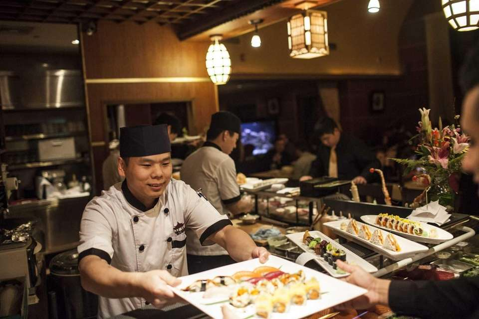Ting's head sushi chef Jacky Zheng. (Feb. 2,
