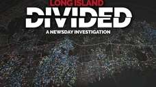 """Logo for Newsday's investigative piece, """"Long Island Divided."""""""