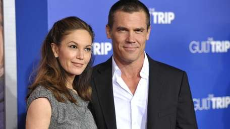 Diane Lane and Josh Brolin at the L.A.