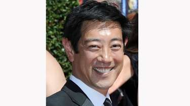 Grant Imahara arrives at the Creative Arts Emmys