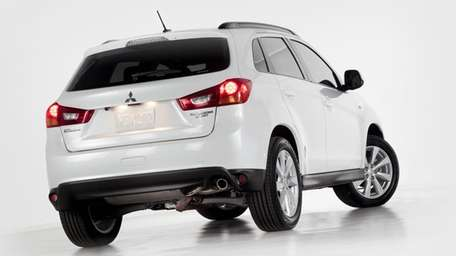 The 2013 Outlander Sport's looks straddle the line