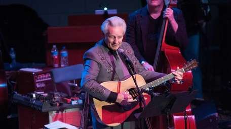 Del McCoury performs during the Tribute to Cowboy