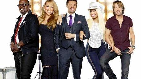 Ryan Seacrest, Randy Jackson and new judges Mariah