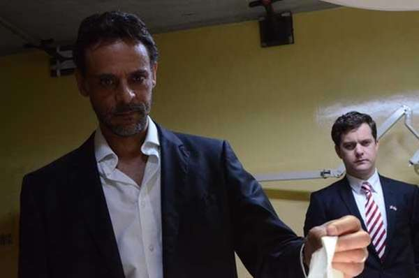 Alexander Siddig and Joshua Jackson star in quot;Inescapable.quot;