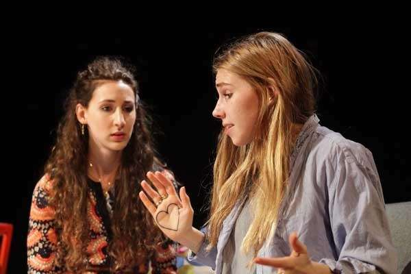 Lauren Culpepper, left, and Zosia Mamet, in quot;Really