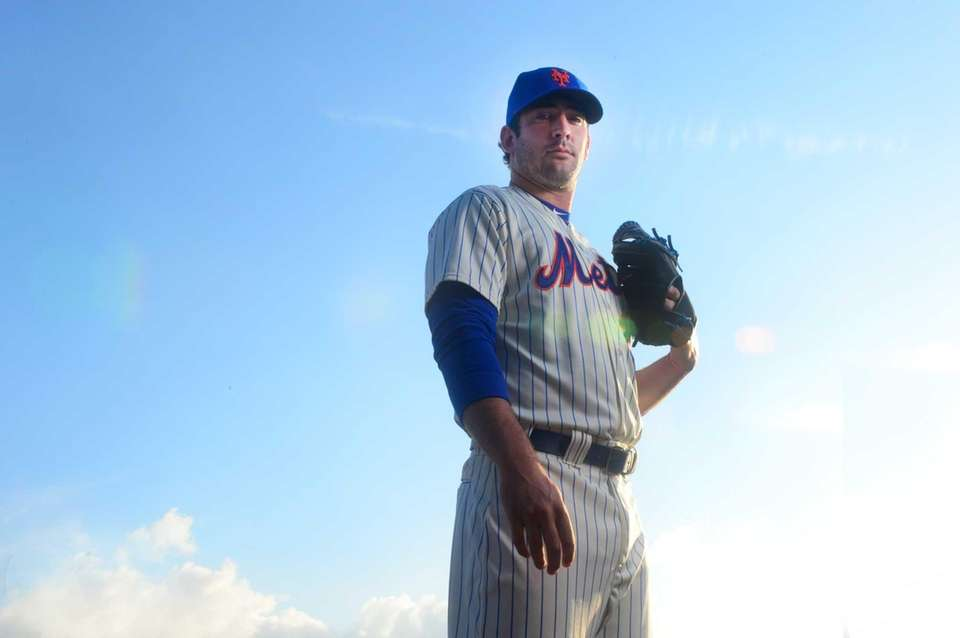 Mets' Matt Harvey is photographed during photo day