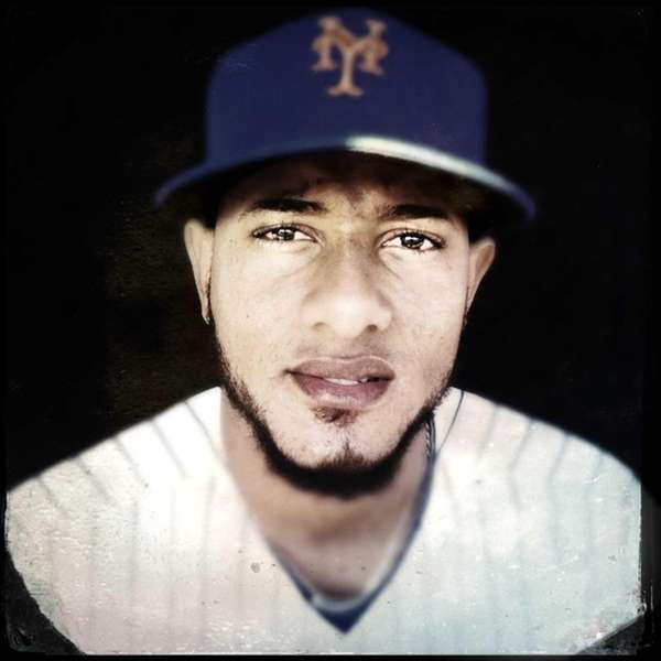 Mets' Jordany Valdespin is photographed during photo day