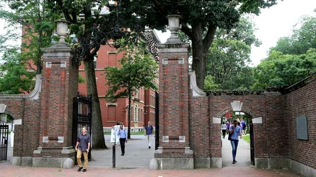 Harvard is among several institutions and businesses that