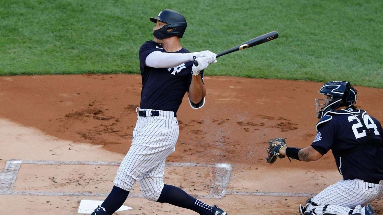 Yankees rightfielder Aaron Judge was scratched last-minute from Saturday