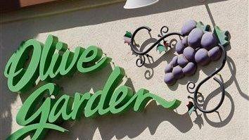 An Olive Garden restaurant in Palo Alto, Calif.
