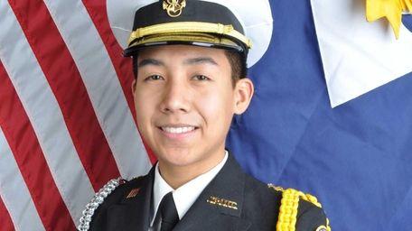 William Floyd High School senior Jeffrey Gao is
