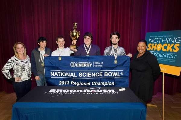 Huntington High won the Long Island Regional Science