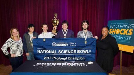 Huntington High won the Long Island Regional Science