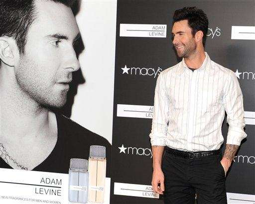 Adam Levine attends the launch of his new