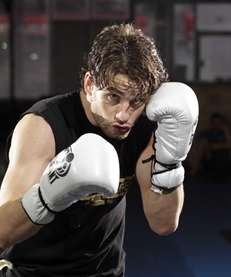 Chris Algieri, of Greenlawn, is shown at Bellmore