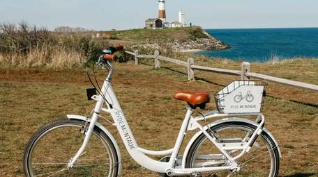 Ryde Montauk is a bike-sharing program based in