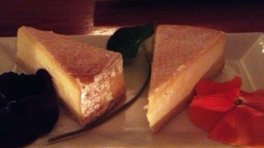 Keith Luce produced this washed-rind cheese and served