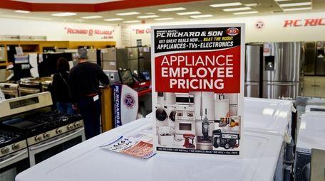Three P.C. Richard & Son customers have filed