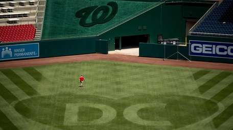 A heart is visible in center field with