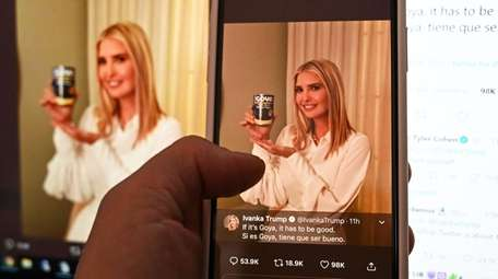 The president's daughter and adviser Ivanka Trump's tweeted
