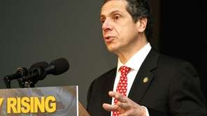 Gov. Andrew M. Cuomo wants to require state