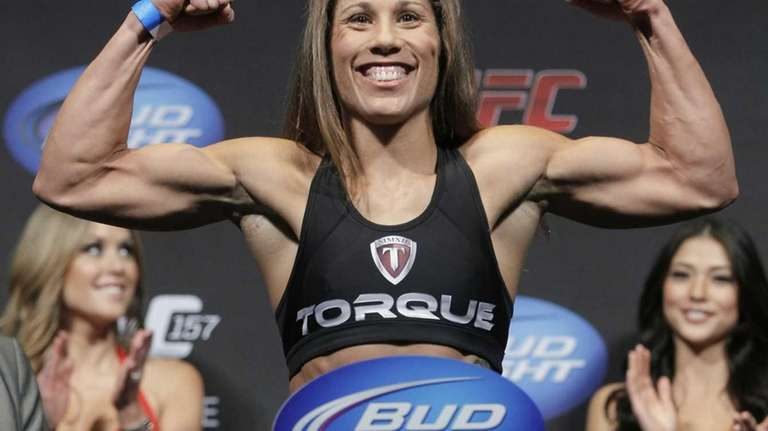 role model still unique position for ufc s liz carmouche newsday