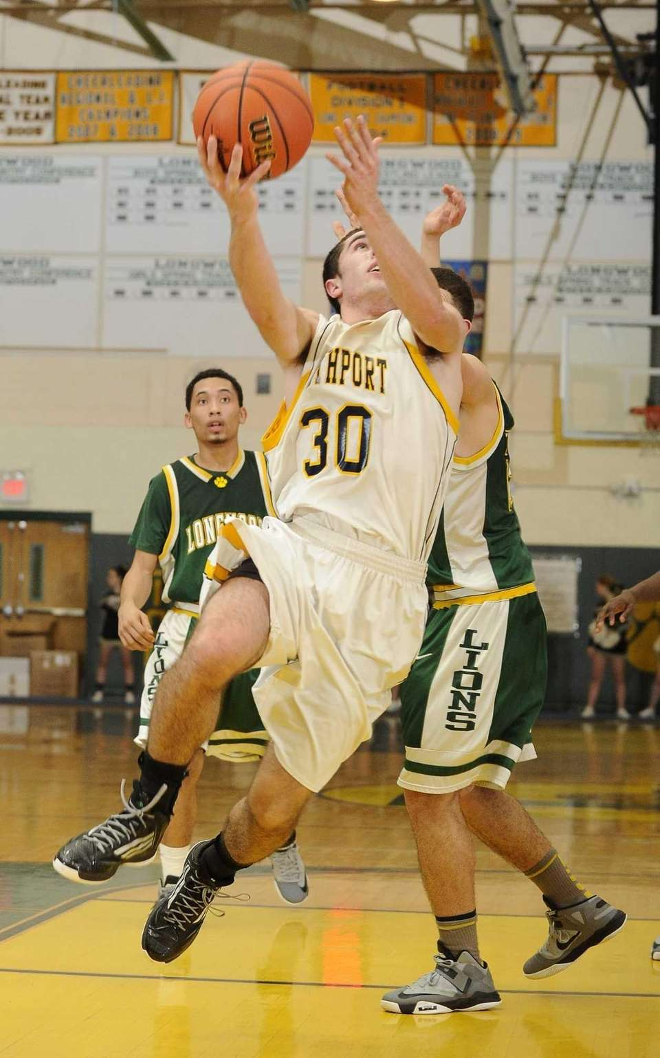 Northport's Matt Smith scores on a layup agaisnt