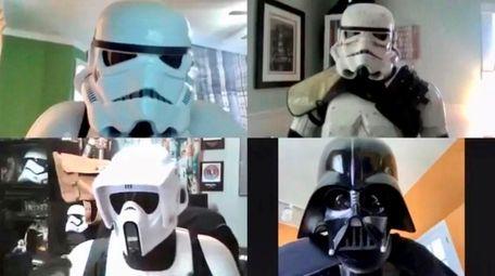 The 501st Legion's Empire City Garrison professional cosplay