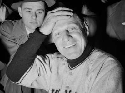 New York Giants manager Leo Durocher on Sept.