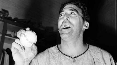 Sal Maglie of New York Giants in the