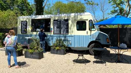 Chef-driven edibles are served via this food truck
