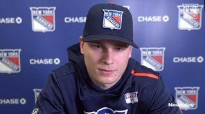 Rangers rookie Kaapo Kakko, who has diabetes,discussed his