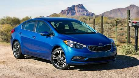 The redesigned 2014 Kia Forte is a complete