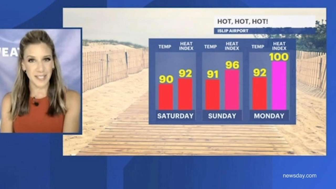 The National Weather Service says temperatures are expected