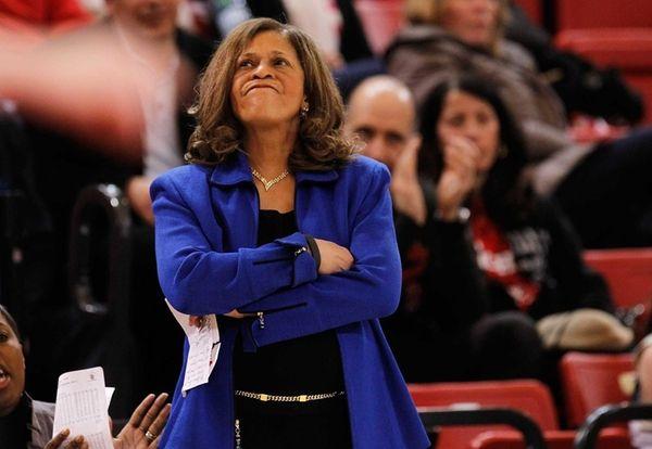 Head Coach C. Vivian Stringer of the Rutgers