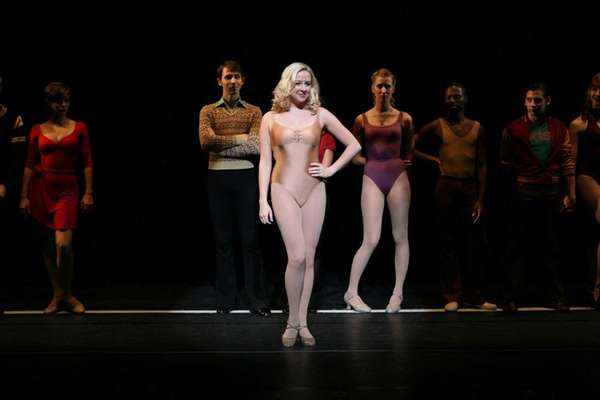 "Suzanna Dupree as Sheila from ""A Chorus Line,"""