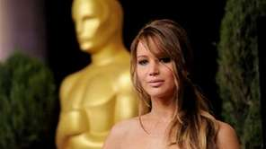 Jennifer Lawrence is a Best Actress contender for