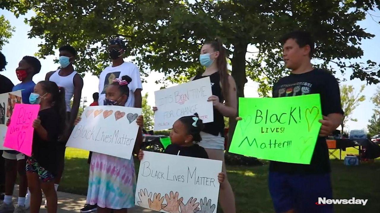 A Black Lives Matter protest for kids was